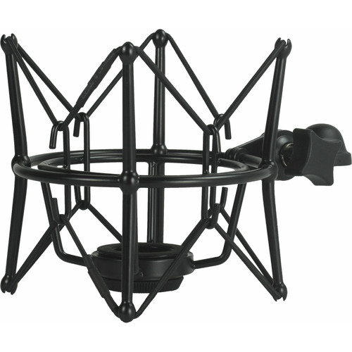 Cascade Microphones New Fat Head II Shockmount for Large-Body Microphones (Black)