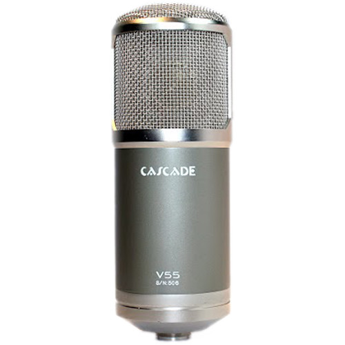 Cascade Microphones V55 Large-Diaphragm Multi-Pattern Tube Microphone