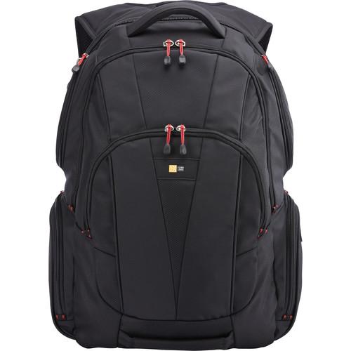 """Case Logic Backpack for 15.6"""" Laptop and Tablet (Black)"""