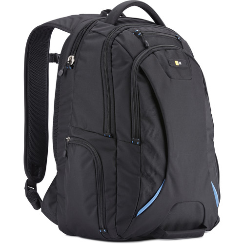"Case Logic 15.6"" Checkpoint-Friendly Laptop Backpack (Black)"