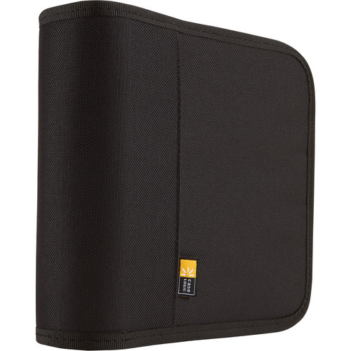 Case Logic 24-Disc Nylon CD / DVD Binder (Black)