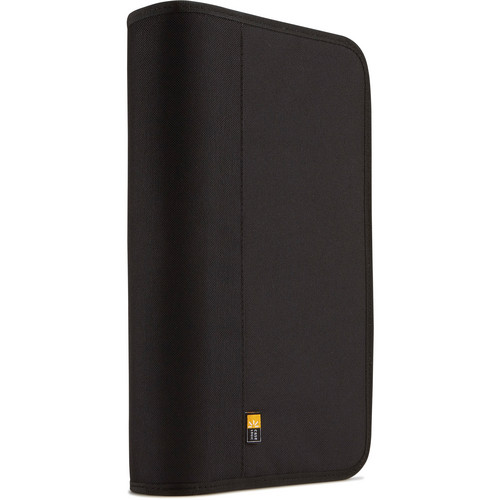 Case Logic 48 Capacity Nylon CD/DVD Binder (Black)