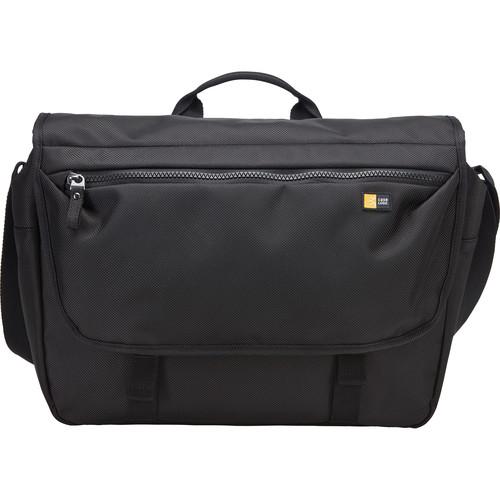 """Case Logic Bryker Messenger Bag for 15"""" MacBook Pro & 10.1"""" Tablet (Black)"""