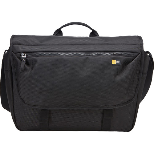 "Case Logic Bryker Messenger Bag for 15"" MacBook Pro & 10.1"" Tablet (Black)"