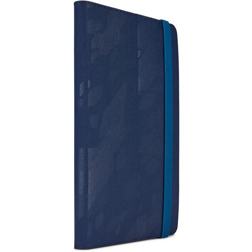 """Case Logic 8"""" Surefit Universal Tablet Folio (Dress Blue)"""
