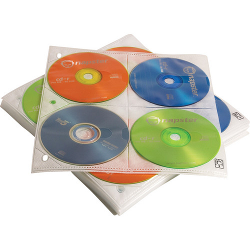 Case Logic 200 Disc Capacity CD ProSleeve Pages (White)