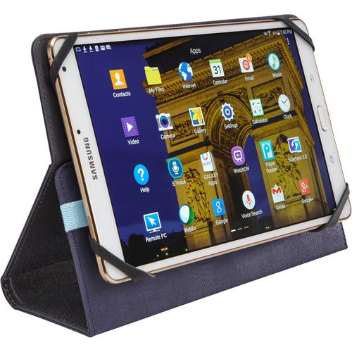 """Case Logic SureFit Slim Folio for 8"""" Tablet (Indigo)"""