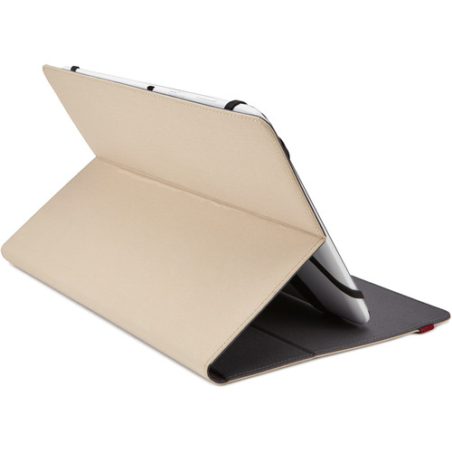 "Case Logic SureFit Slim Folio for 9-10"" Tablet (Parchment)"