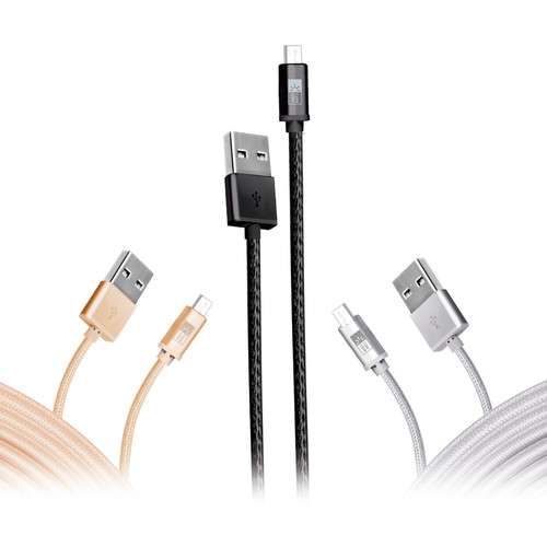 Case Logic 3-Pack Braided USB Type-C Charge and Sync Cable (10')