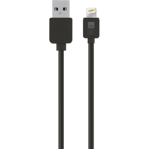 Case Logic Sync & Charge Lightning Cable (10', Black)