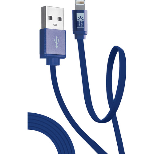Case Logic Flat Charge and Sync Lightning Cable (3.5', Assorted Male Colors)