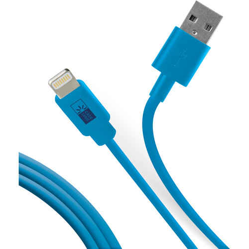 Case Logic Charge and Sync Lightning Cable (3.5', Blue)
