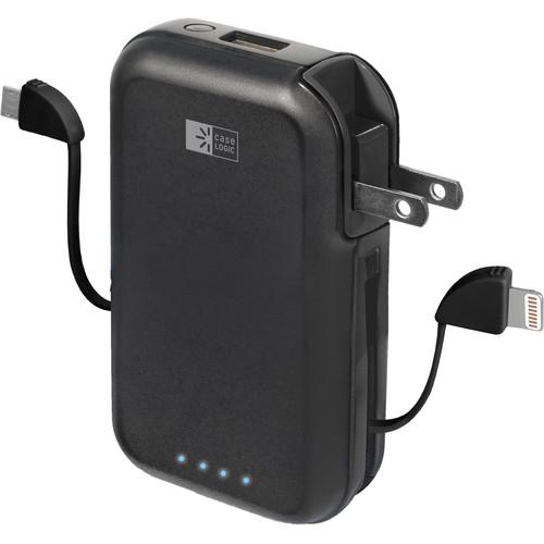 Case Logic 4-In-1 3000mAh Powerbank Wall/Charge (Black)