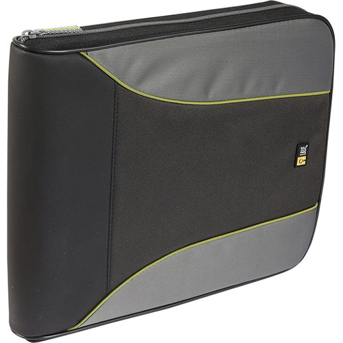 Case Logic CSW-144 Disc CD Wallet (Black/Gray)