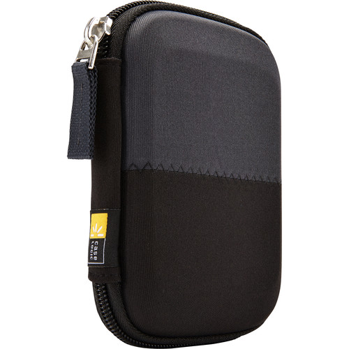 "Case Logic Portable Case for 4.4 x 3.2"" Hard Drive (Black)"