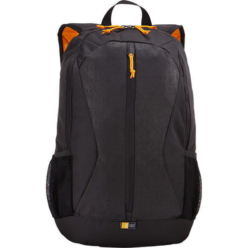 "Case Logic Ibira Backpack for 15.6"" Laptop and 10.1"" Tablet (Black)"