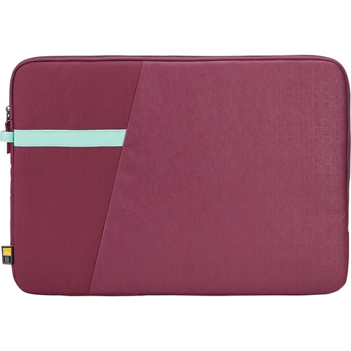"Case Logic Ibira Sleeve for 15.6"" Laptop (Acai)"
