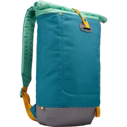 """Case Logic Larimer Rolltop Backpack for 15"""" MacBook & 10.1"""" Tablet (Hudson)"""