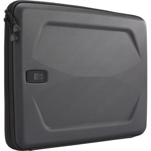 "Case Logic Sculpted Hard-Shell Sleeve for Macbook Pro 13.3"" (Black)"