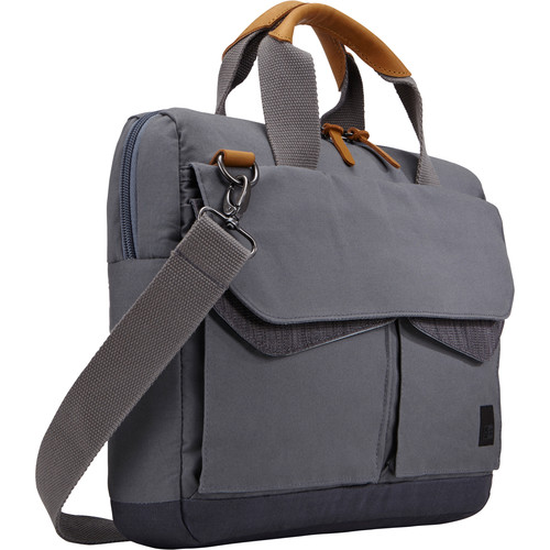 "Case Logic LoDo 14"" Laptop Attache (Gray)"