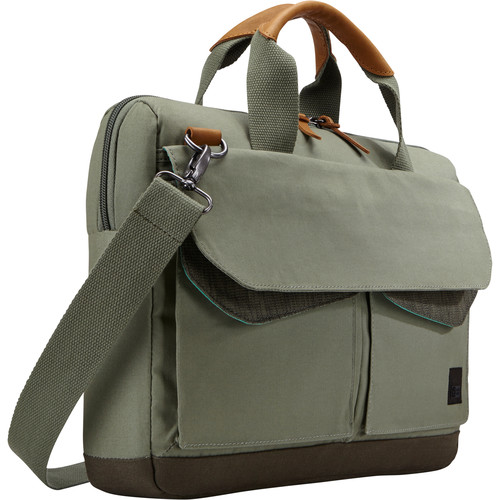 "Case Logic LoDo 15.6"" Laptop Attache (Green)"