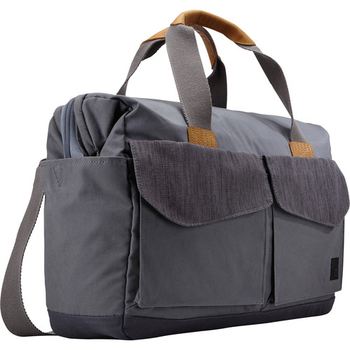 "Case Logic LoDo Satchel for 15"" Laptop (Gray)"