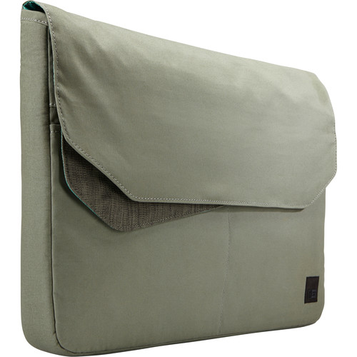"Case Logic LoDo 15.6"" Laptop Sleeve (Petrol Green–Drab)"
