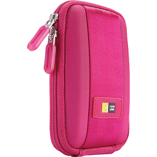 Case Logic QPB-301P Point and Shoot Camera Case (Pink)