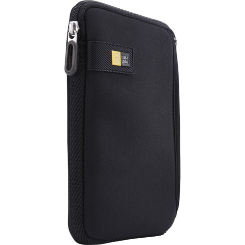 """Case Logic Sleeve with Pocket for iPad mini or 7"""" Tablet (Black)"""