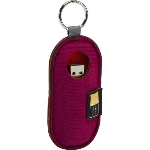 Case Logic Case for USB Flash Drive (Magenta)
