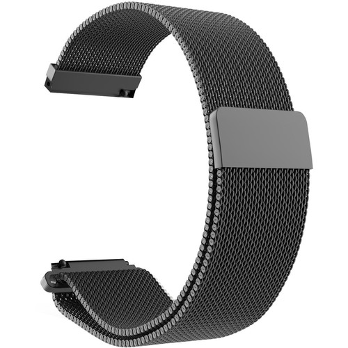 CASEPH Stainless Steel Mesh Band for Samsung Galaxy Watch Active2 (Black)