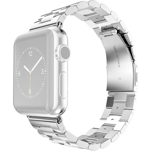 CASEPH Steel Band for 42mm/44mm Apple Watch (Silver)