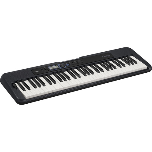 Casiotone CT-S300 Portable 61-Key Touch Responsive Digital Piano (Black)