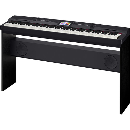 Casio CGP-700 - Compact Grand Piano with Stand & Pedal (Black)