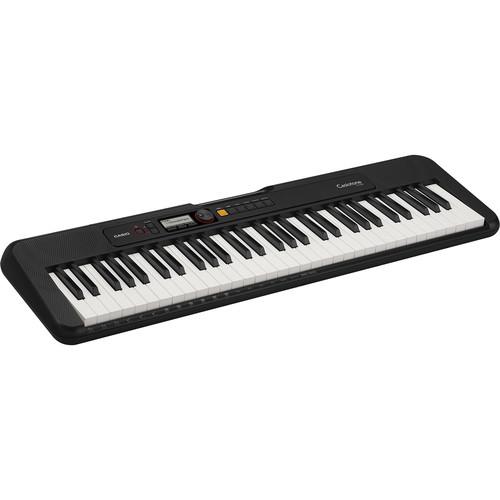 Casiotone CT-S200 Portable 61-Key Digital Piano (Black)