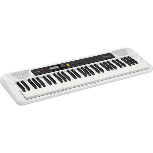 Casiotone CT-S200 Portable 61-Key Digital Piano (White)