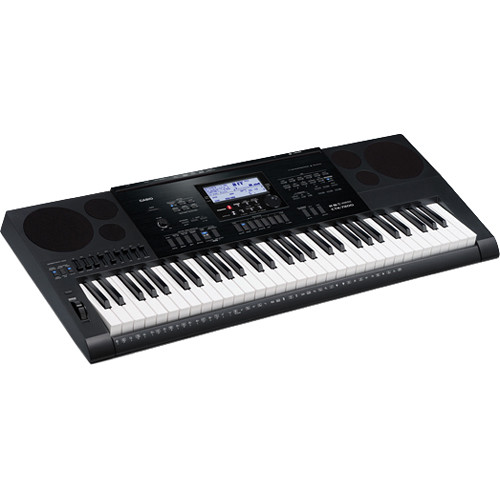 Casio CTK-7200 - Portable Keyboard with Sequencer and Mixer
