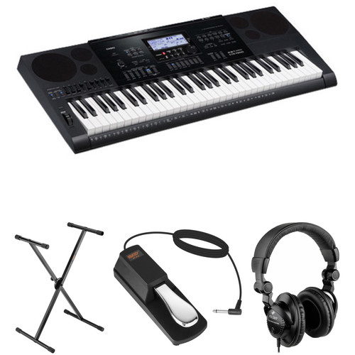 Casio CTK-7200 Portable Keyboard Value Bundle