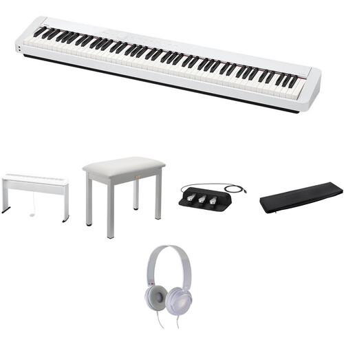 Casio PX-S1000 Digital Piano Standard Home Bundle Kit (White)