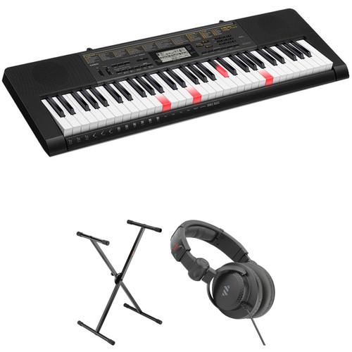 Casio LK-265 61-Key Keyboard Starter Kit with Key-Lighting System