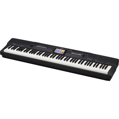 Casio PX-360 Privia 88-Key Portable Digital Piano (Black)