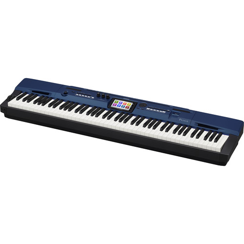 Casio PX-560 Privia 88-Key Portable Digital Piano (Sapphire)