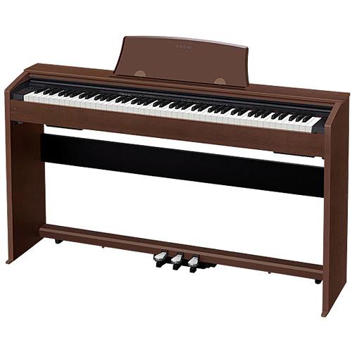 Casio PX-770BN Privia 88-Key Digital Piano (Walnut)