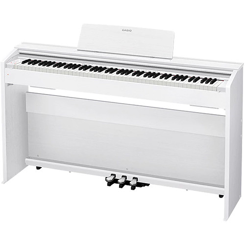 Casio PX-870WE Privia 88-Key Digital Piano (White)