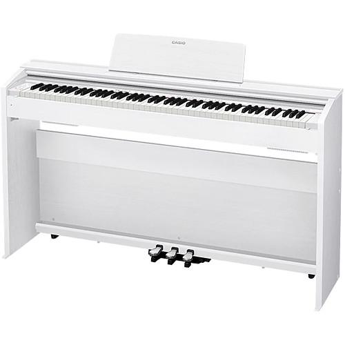 Casio PX-870WE Privia 88-Key Digital Piano (White)