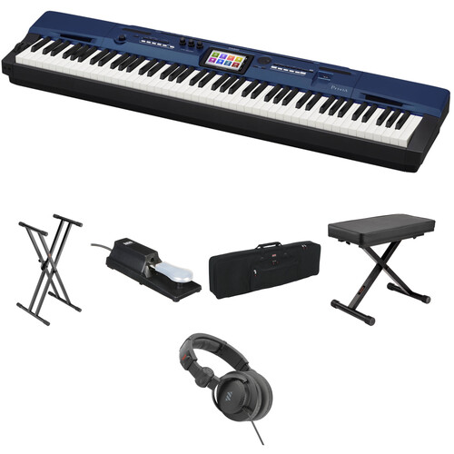 Casio PX-560 Portable Digital Piano Essentials Bundle