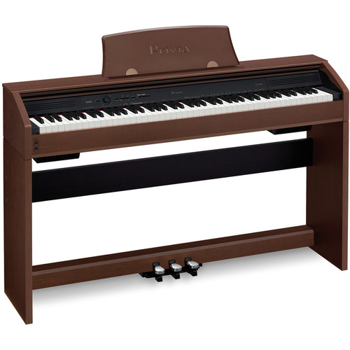 Casio PX-760 Privia 88-Key Digital Piano (Brown)