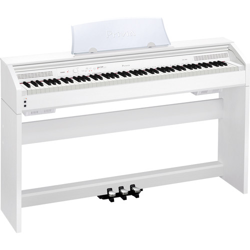 Casio PX-760 Privia 88-Key Digital Piano (White)