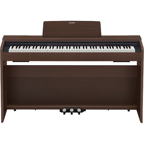 Casio PX-870BR Privia 88-Key Digital Piano (Brown)