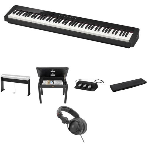 Casio PX-S1000 Digital Piano Standard Home Bundle Kit (Black)